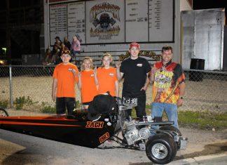 Zach Newberry Jr. Dragster Winner