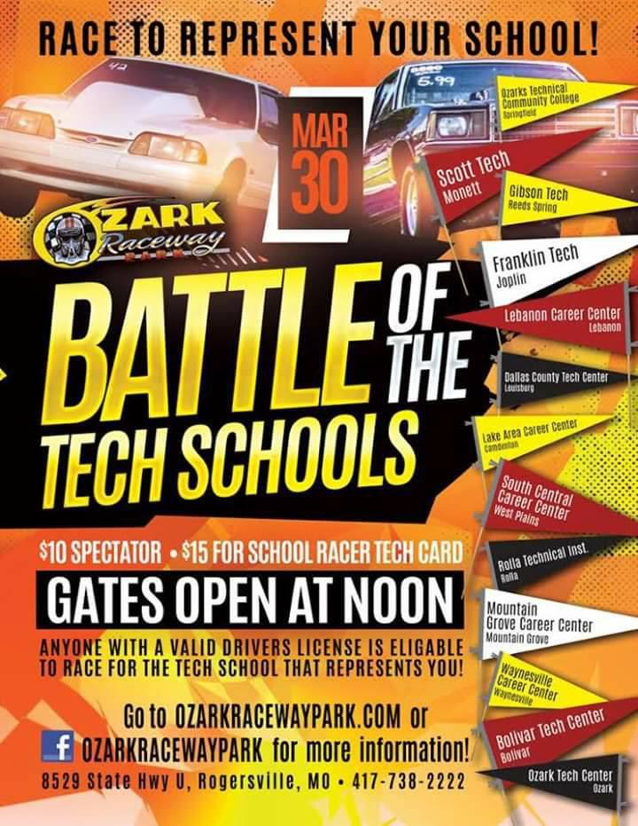Event Schedule | Ozark Raceway Park
