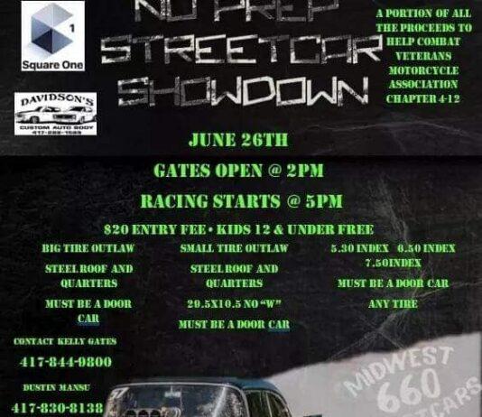 No Prep Street Car Showdown